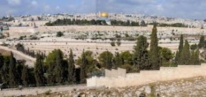 Ierusalimul (vedere de pe Muntele Maslinilor)